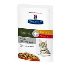 Hills Feline Metabolic + Urinary Stress Frischebeutel