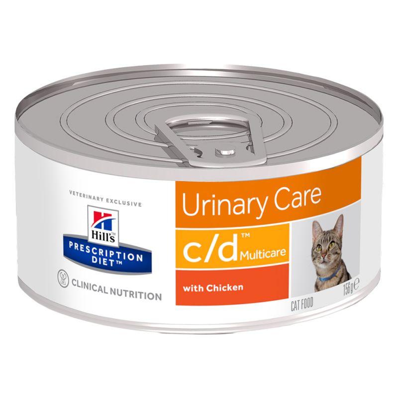 Hills Feline c/d Dosenfutter 1 x 156 g (Katze)