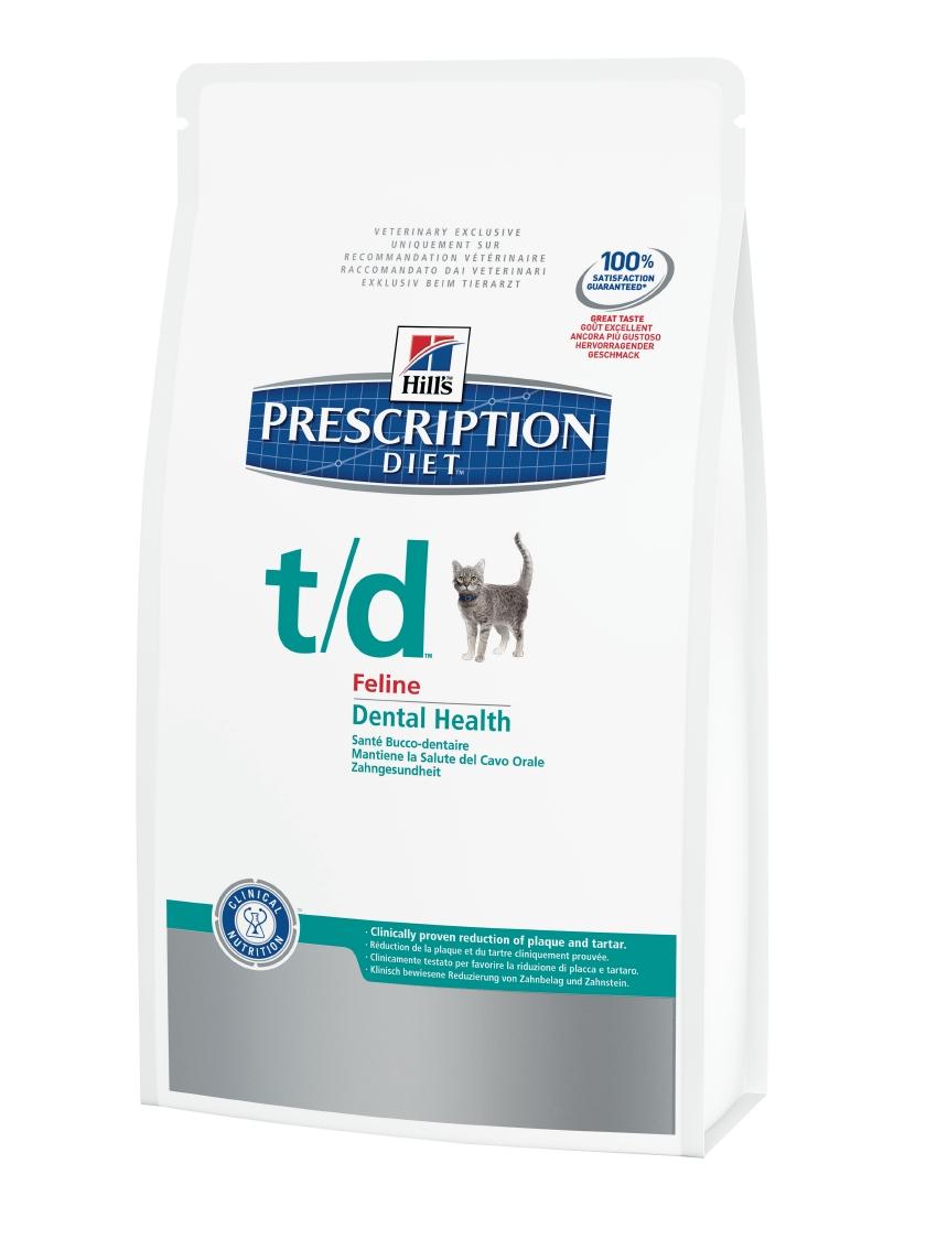 Hills Feline t/d Trockenfutter 5 kg (Katze)