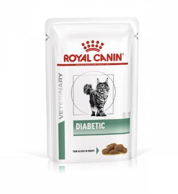Royal Canin Diabetic - Katze 1 x 85g (Frischebeutel)