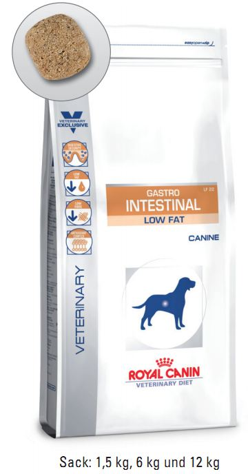 Royal Canin Gastro Intestinal Low Fat 12 kg (Hund)