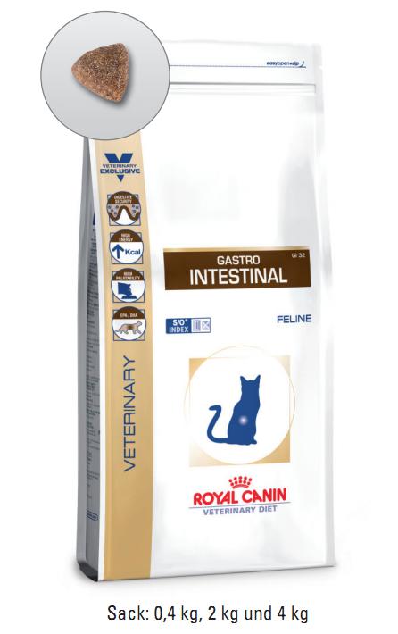Royal Canin Gastro Intestinal 4 kg (Katze)