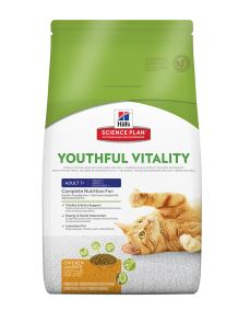 Hill's Science Plan Feline Adult 7+ Youthful Vitality Huhn mit Reis