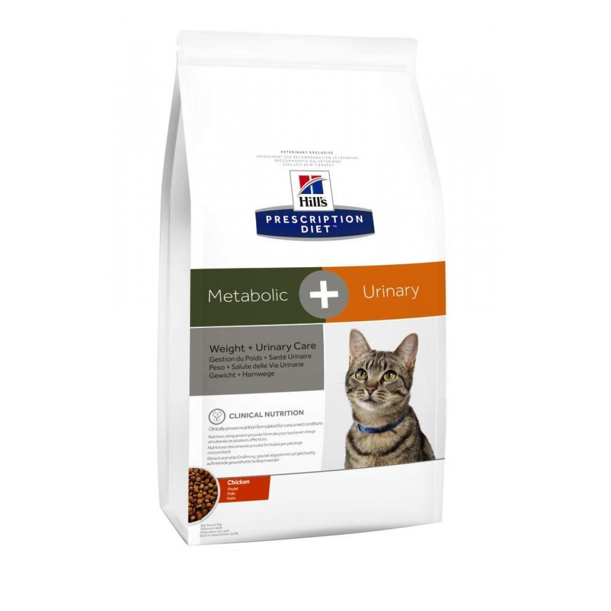 Hills Feline Metabolic + Urinary 4 kg Trockenfutter