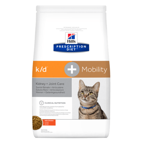 Hills Feline k/d + Mobility Trockenfutter 2 kg (Katze)