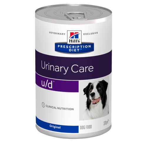 Hills Canine u/d Dosenfutter 12 x 370 g (Hund)
