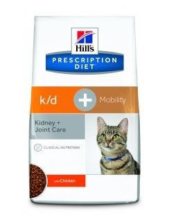 Hills Feline k/d + Mobility 2 kg (Katze)