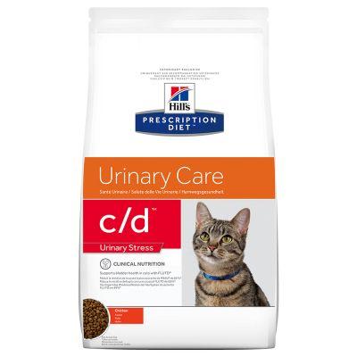 Hills Feline c/d Stress Trockenfutter 4 kg (Katze)