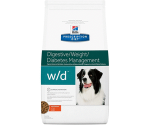 Hills Canine w/d 12 kg  für Hunde