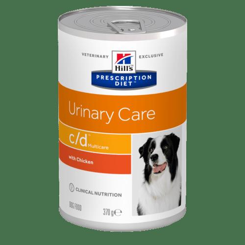 Hills Canine c/d Dosenfutter mit Huhn 12 x 370 g (Hund)