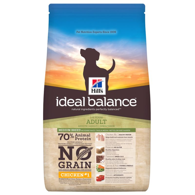 Hills Ideal Balance Canine Adult NO GRAIN 2kg (Hund)
