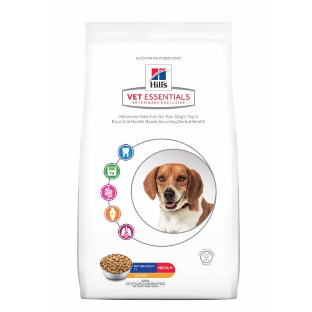 Hills VetEssentials Canine Mature Adult 7+ Huhn