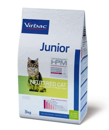 Virbac Veterinary HPM Junior Neutered Cat 3 kg
