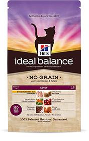 Hills Ideal Balance Feline Adult ohne Getreide mit frischem Huhn & Kartoffeln 300g (Katze)