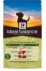 Hills Ideal Balance Canine Adult mit frischem Huhn & braunem Reis 700g (Hund)