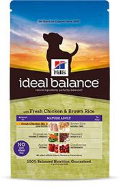 Hills Ideal Balance Mature Adult mit frischem Huhn & braunem Reis 2kg (Hund)