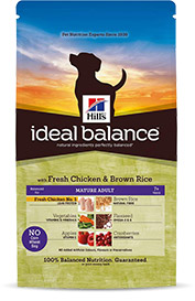 Hills Ideal Balance Mature Adult mit frischem Huhn & braunem Reis 12kg (Hund)