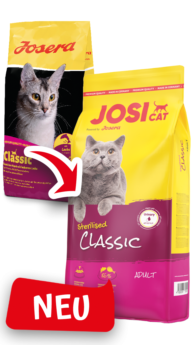 JosiCat Sterilised Classic (vorher Josera Classic) 10 kg