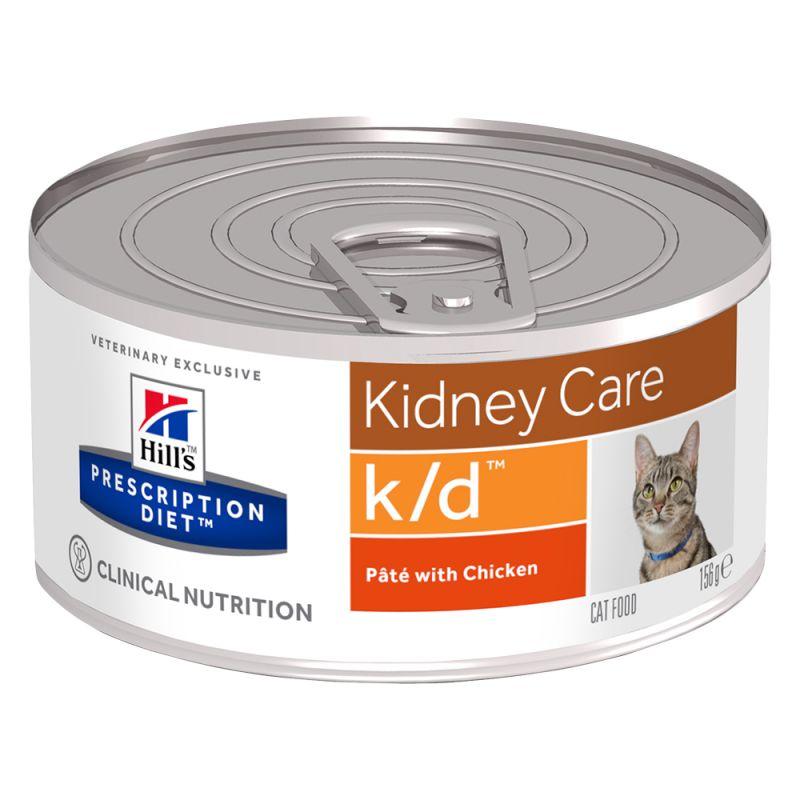 Hills Feline k/d Dosenfutter 24 x 156 g (Katze)