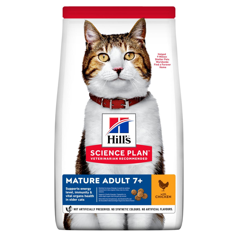 Hills Science Plan Katze Mature Adult 7+ Huhn