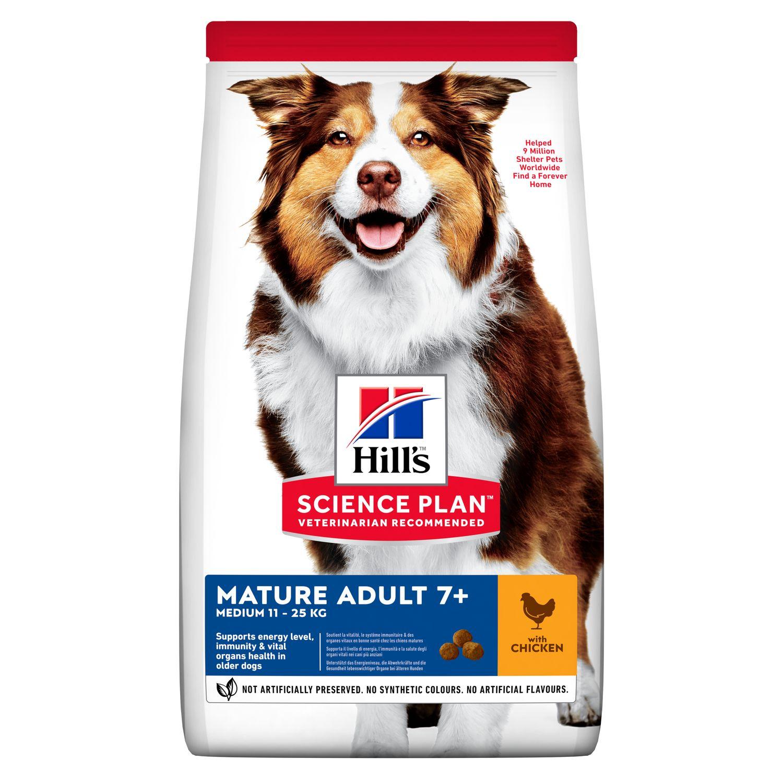 Hills Science Plan Hund Mature Adult 7+ Medium