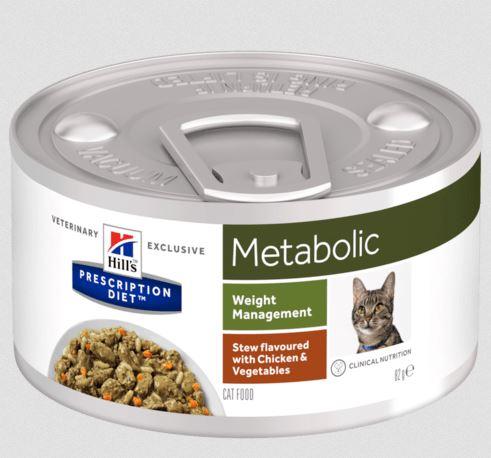 Hills Feline Metabolic Ragout Huhn mit Gemüse