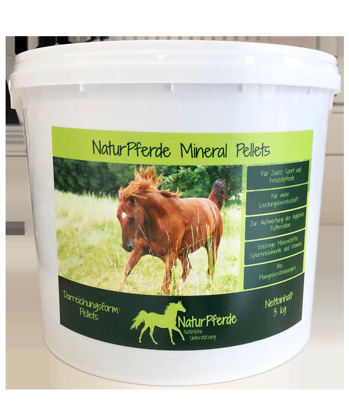 NaturPferde Mineral Pellets MHD 09/2020