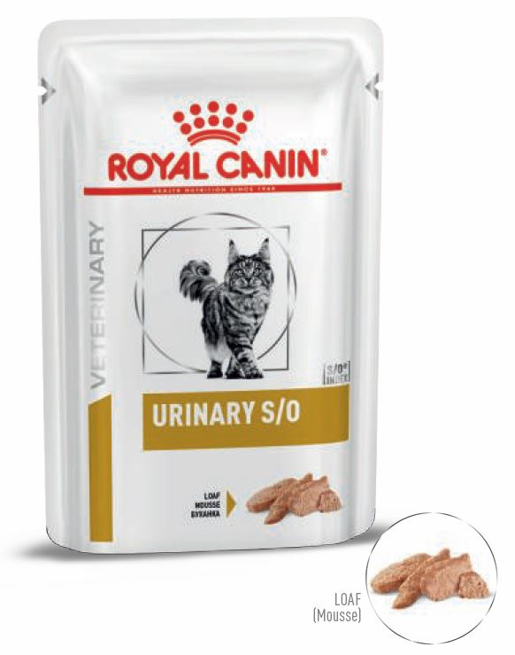 Royal Canin Urinary S/O Mousse 12 x 85 g