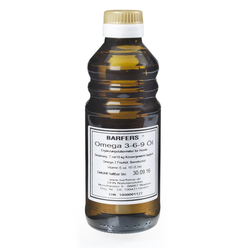 BARFERS Omega 3-6-9 Öl