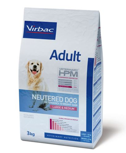 Virbac Veterinary HPM Adult Neutered Dog Large & Medium 3 kg