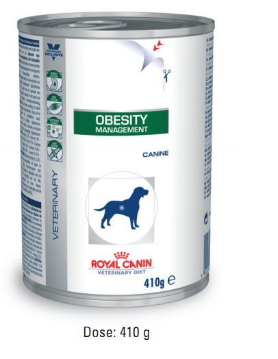 Royal Canin Obesity Management Hund 12 Dosen je 410g