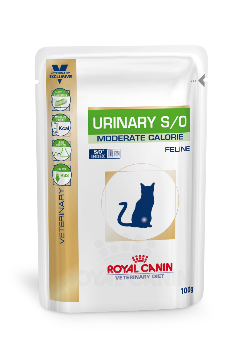 Royal Canin Urinary Moderate Calorie (Lachs) 1 x 100 g (Frischebeutel)