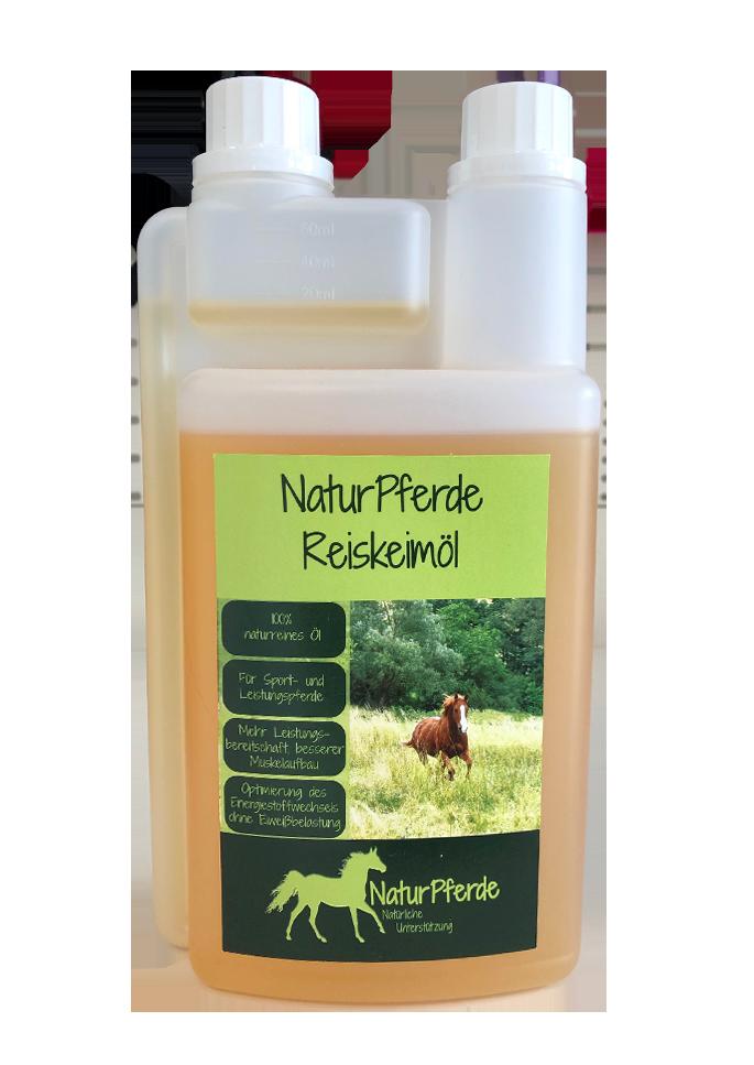 NaturPferde Reiskeimöl