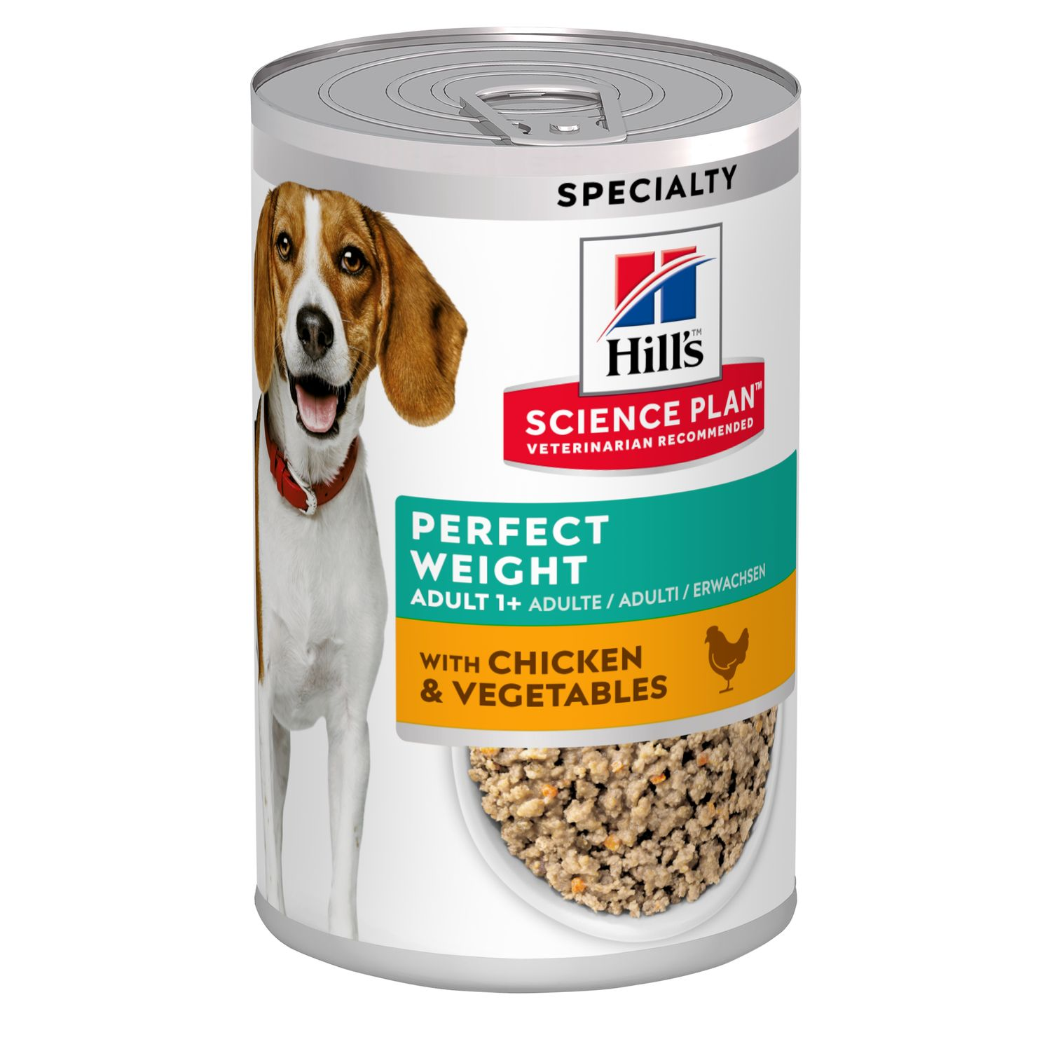Hills Science Plan Canine Adult Perfect Weight Dosenfutter