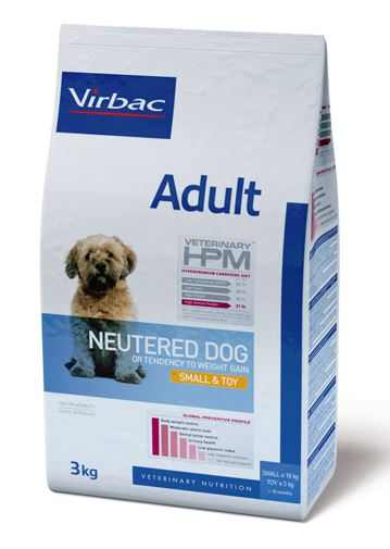Virbac Veterinary HPM Adult Neutered Dog Small & Toy 3 kg