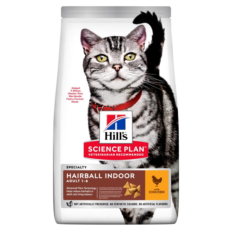 Hills Science Plan Hairball Indoor Adult Katzenfutter