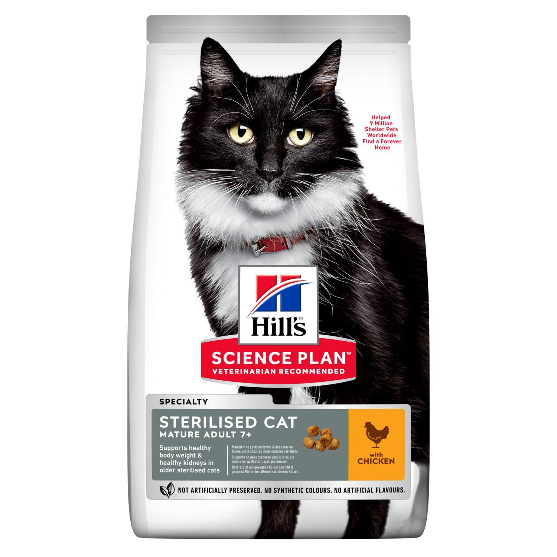 Hills Science Plan Sterilised Mature Adult 7+ Katzenfutter