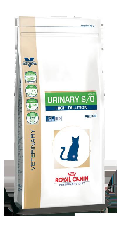Royal Canin Urinary S/O High Dilution 7 kg (Katze)