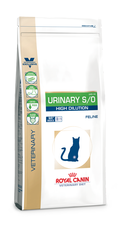 Royal Canin Urinary S/O High Dilution 1,5 kg (Katze)