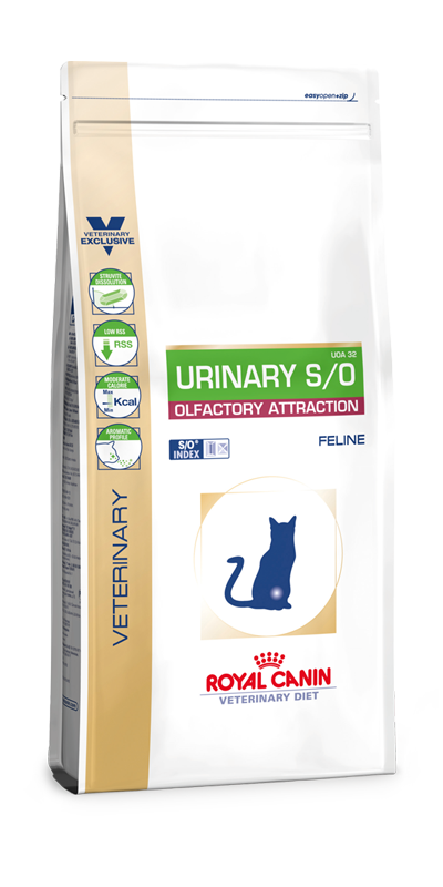 Royal Canin Urinary S/O Olfactory Attraction Fisch