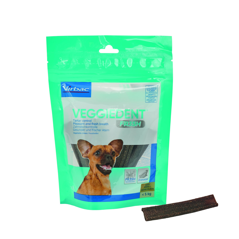 Veggie Dent Kaustreifen XS für Hunde bis 5 kg