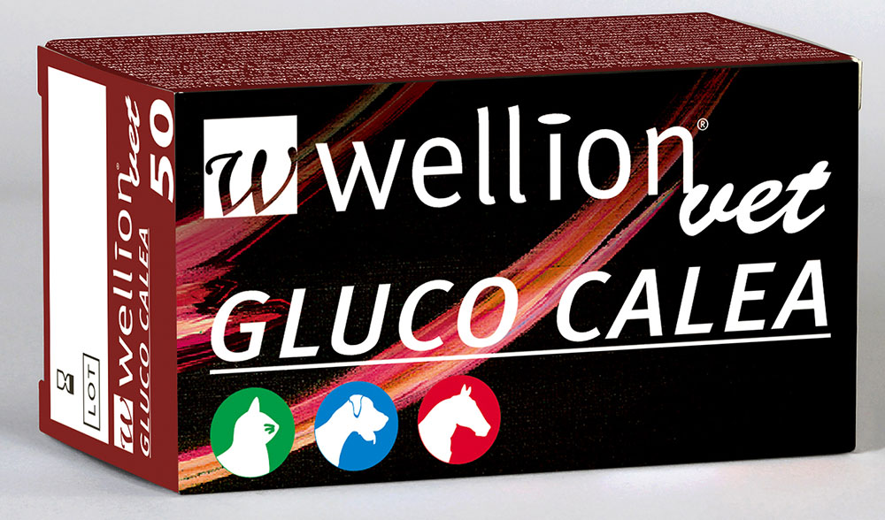 WellionVet GLUCO CALEA Blutzucker-Teststreifen 10Stk.