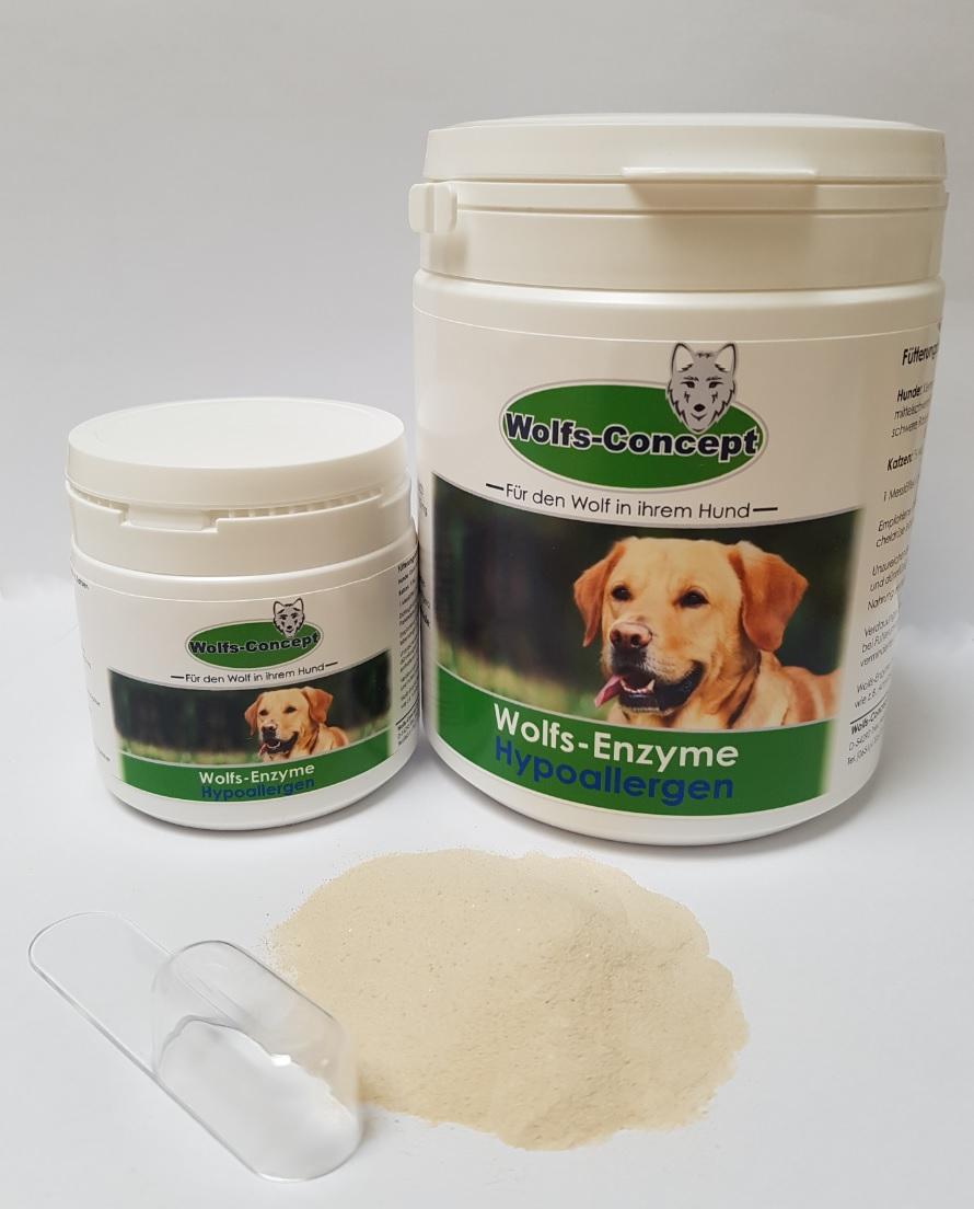 Wolfs-Enzyme Hypoallergen