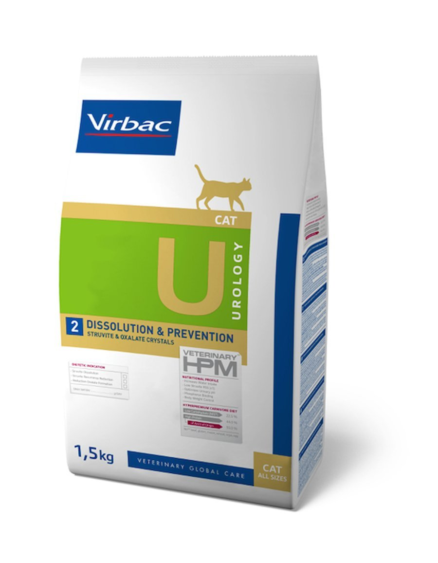 Virbac Veterinary HPM Cat Urology 2 1,5 kg