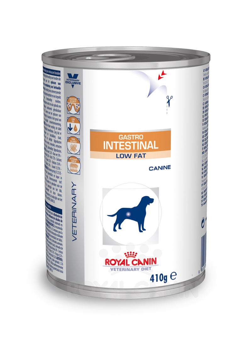 Royal Canin Gastro Intestinal Low Fat 1 Dose je 410g