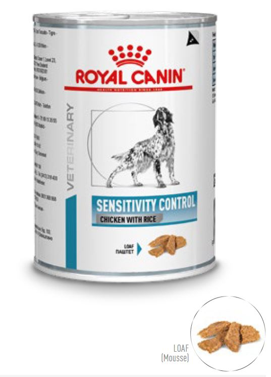 Royal Canin Sensitivity Control Chicken and Rice Hund