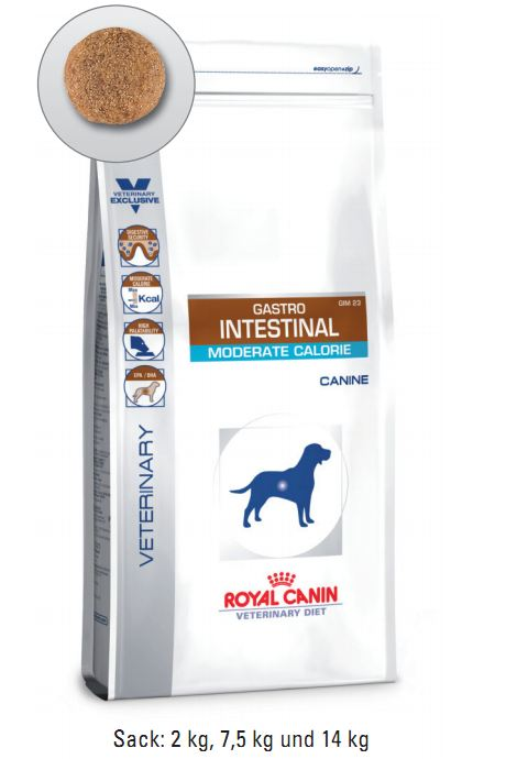 Royal Canin Gastro Intestinal Moderate Calorie 7,5 kg (Hund)