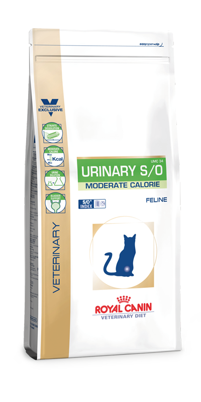 Royal Canin Urinary S/O Moderate Calorie 9 kg (Katze)