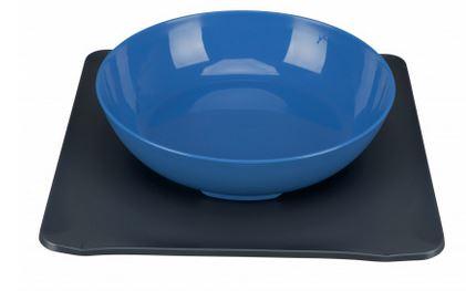 Yummynator Napfsystem Farbe: blau / grau Maße: 850 ml, 24 × 24 cm