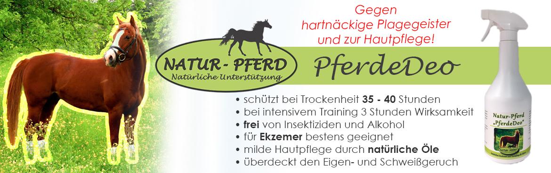 Banner 56 - Natur-Pferd Fliegenbremse